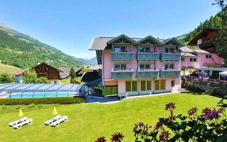 4–8denní wellness pobyt pro 2 s polopenzí v hotelu Margarethenbad v rakouských Alpách