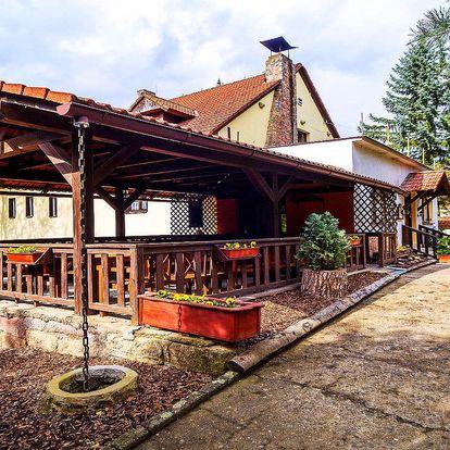 Last Minute v Hotelu Prostřední Mlýn v Českém ráji s polopenzí a dítětem zdarma