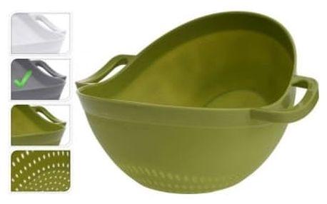 Miska na salát / cedník 22 cm šedá EXCELLENT KO-314417750seda