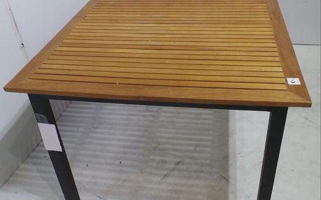 Zahradní stůl Hillerstorp Blackline, 156x90cm + SLEVA 15 %