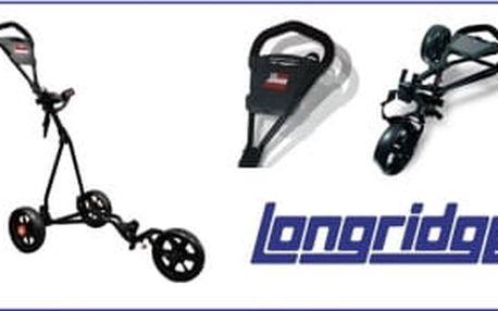 Longridge Ezeglide dětský golfový vozík 3kolový s nastavitelnou výškou madla i držáku na bag právě teď se slevou 30%