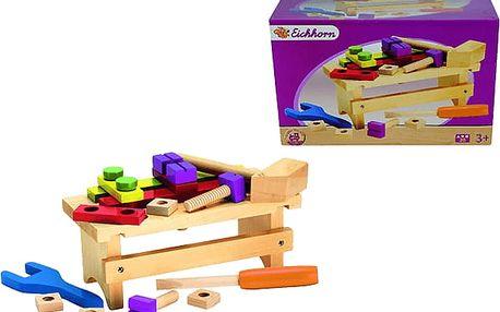 EICHHORN Dřevěný pracovní stolek, přísl.