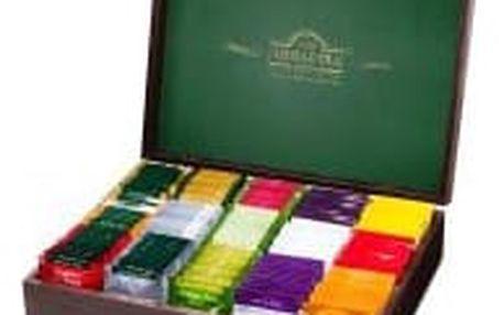 AHMAD TEA Dřevěná dárková kazeta 15 x 10 sáčků