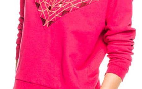 Scotch&Soda růžová mikina Embellished - S