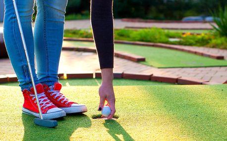 Adventure golf v Beskydech pro rodinu či partu