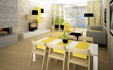 3D návrh interiéru - mějte jasnou vizi o novém bydlení