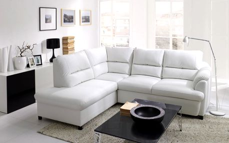 BENIX sedací souprava GUSTO - materiál ORINOCO 96 - šedá