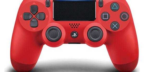 Gamepad Sony Dual Shock 4 pro PS4 v2 (PS719814153) červený3