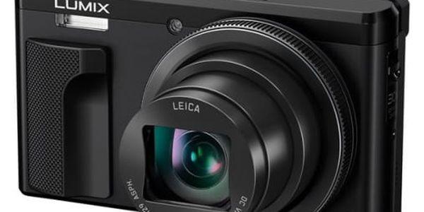 Digitální fotoaparát Panasonic DMC-TZ80EP-K černý