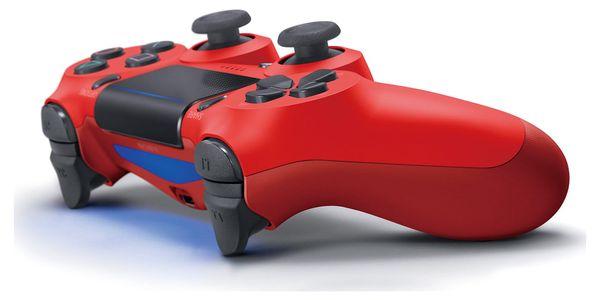 Gamepad Sony Dual Shock 4 pro PS4 v2 (PS719814153) červený4