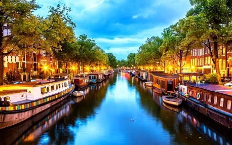 Poznejte Amsterdam: hotel se snídaní pro dva