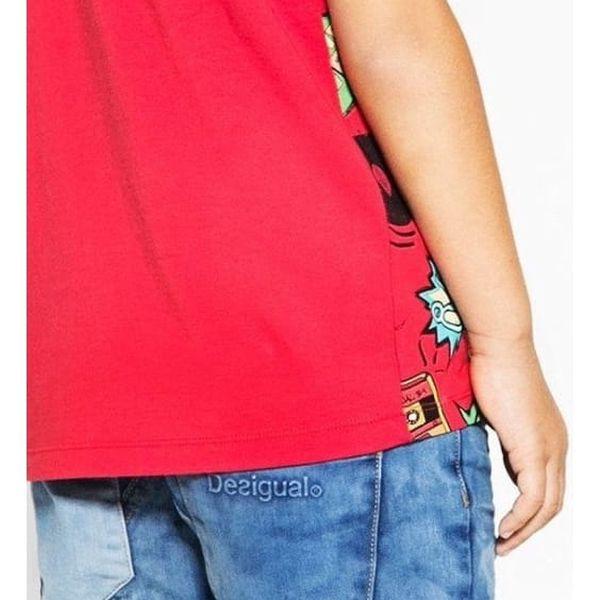 tričko Desigual Janitz rojo velikost: 3/43