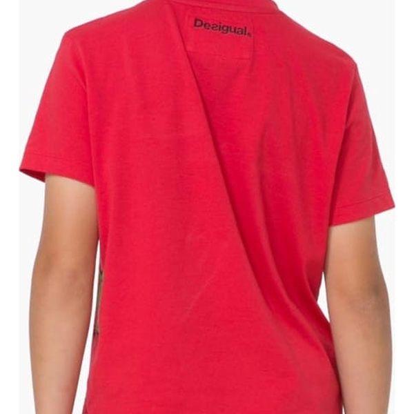 tričko Desigual Janitz rojo velikost: 3/44