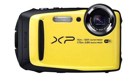 Fujifilm FinePix XP90, yellow