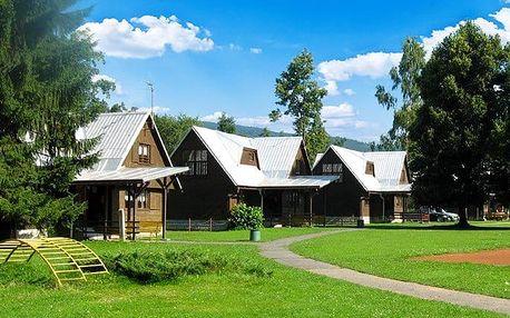 3–5denní pobyt pro 2 se snídaní v bungalovu nebo v chatě střediska Retaso na Valašsku