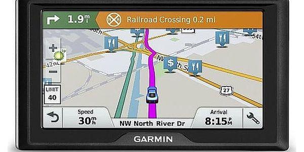 Navigační systém GPS Garmin Drive 61S Lifetime Europe45 (010-01679-17) černá2