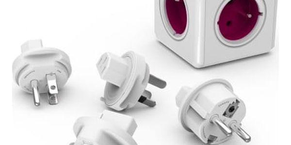 PowerCube ReWirable + Travel Plugs