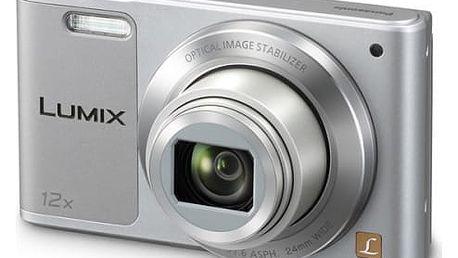 Digitální fotoaparát Panasonic DMC-SZ10EP-S stříbrný