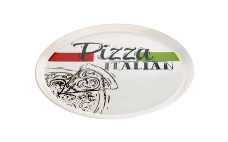 Talíř na pizzu kamenina 31 cm Pizza Italian EXCELLENT KO-DN2000010pizz