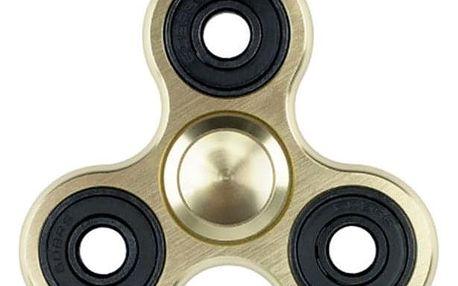 Fidget spinner - antistresová hračka ve zlaté barvě - dodání do 2 dnů