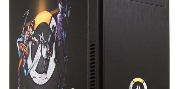HAL3000 IEM Certified PC Overwatch by MSI, černá - PCHS21711 + Intel Extreme Masters - kupón na hry a kredit do her v ceně 7452 Kč + Kupon na hru ROCKET LEAGUE, platnost od 30.5.2017 - 31.7.2017