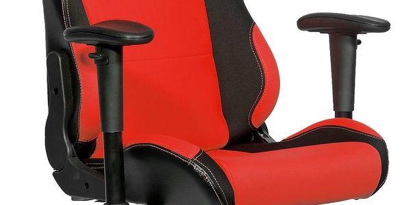 Herní židle Arozzi TORRETTA (TORRETTA-RD) černá/červená + DOPRAVA ZDARMA2