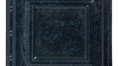Modrá dekorativní dlaždice Nordal Deco