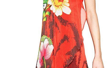 Desigual červené šaty Shayck