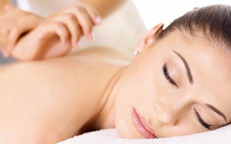 Hodinový relax: masáž zad, šíje a rukou či nohou
