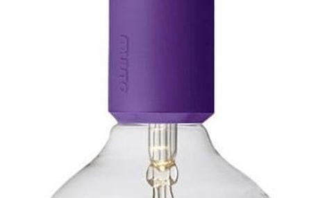 Muuto lustr E27 SOCKET, fialový