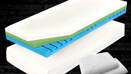 Ortopedická matrace CUREM visco C4500 25cm