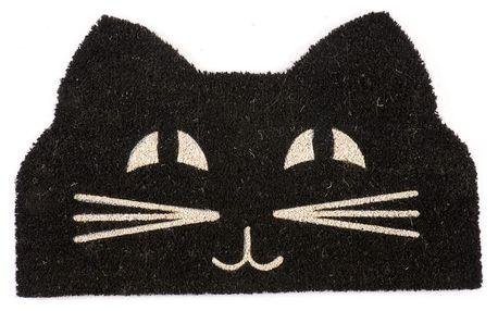 Rohožka Entryways Cat Face, 43x71cm - doprava zdarma!
