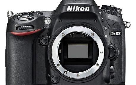 Nikon D7100 tělo + brašna Vanguard jako dárek
