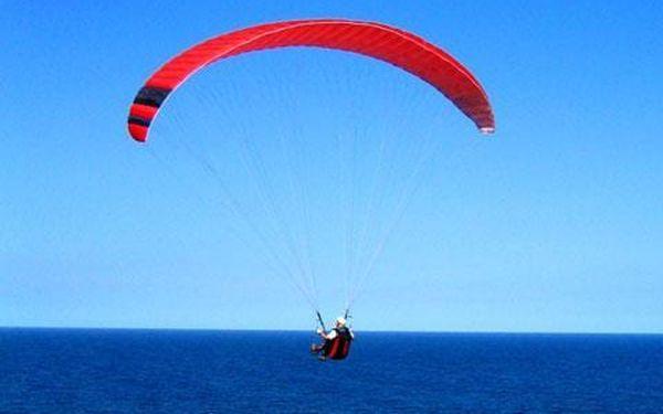 Tandem paragliding, čistý let cca 15 minut, počet osob: 1 osoba, Moravskoslezské Beskydy (Moravskoslezský kraj)2