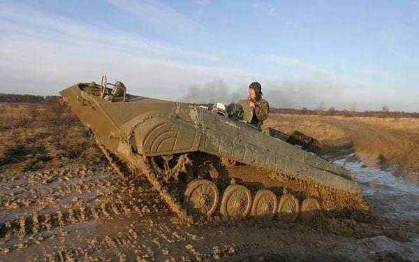 Armádní výcvik, cca 3 hodiny, počet osob: 1 osoba, Milovice (Středočeský kraj)2