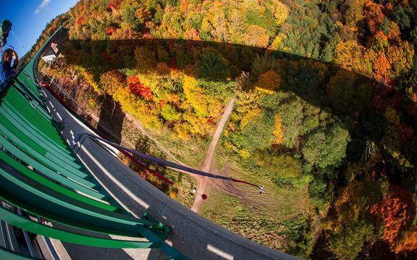 Bungee z mostu (62 metrů), cca 15 až 30 minut, počet osob: 1 osoba, Chomutov (Ústecký kraj)4