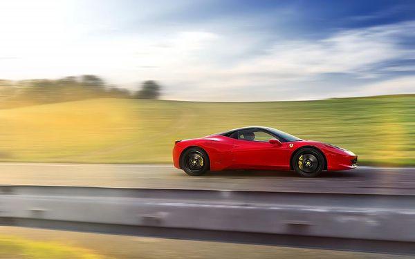 Jízda ve Ferrari 458 Italia na Moravě2