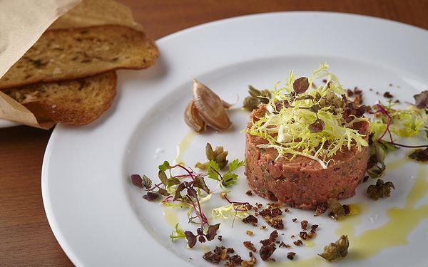 Vegetariánské degustační menu v restauraci Etnosvět5