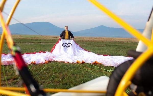 Motorový paragliding5