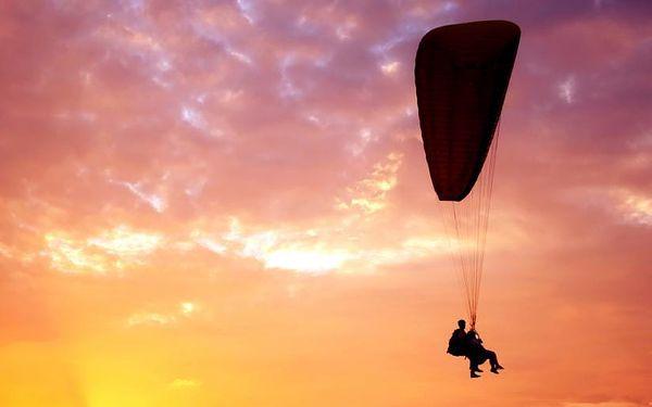 Tandem paragliding, čistý let cca 15 minut, počet osob: 1 osoba, Moravskoslezské Beskydy (Moravskoslezský kraj)4