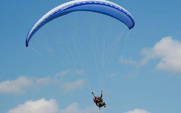Tandem paragliding, čistý let cca 15 minut, počet osob: 1 osoba, Moravskoslezské Beskydy (Moravskoslezský kraj)5