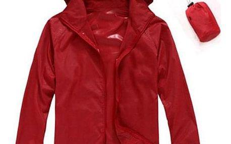 Unisex nepromokavá a skladná bunda do deště - 15 barev