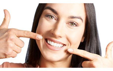 Ordinační bělení zubů laserem bez peroxidu