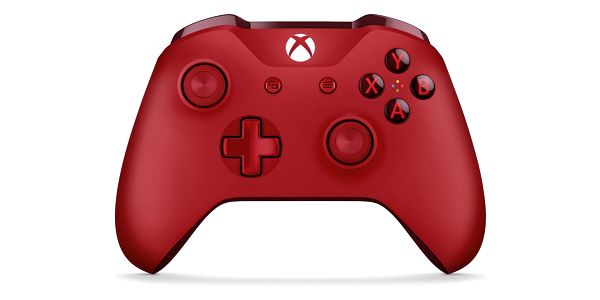 Gamepad Microsoft Wireless (WL3-00028) červený3