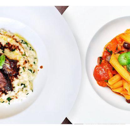 Itálie na talíři: 5chodové menu pro dva