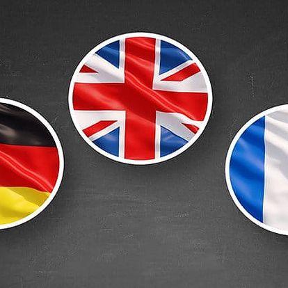 6–12měsíční online kurz angličtiny, němčiny či francouzštiny metodou 123 od Funmedia