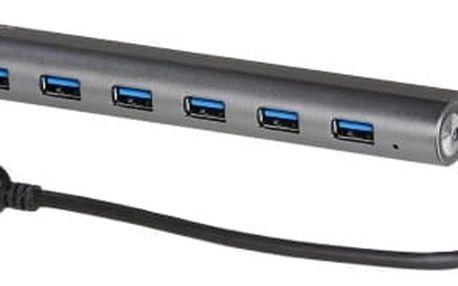 USB 3.0 Metal HUB 7 Port
