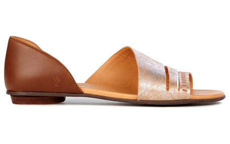 Emu hnědé dámské sandály Ibis