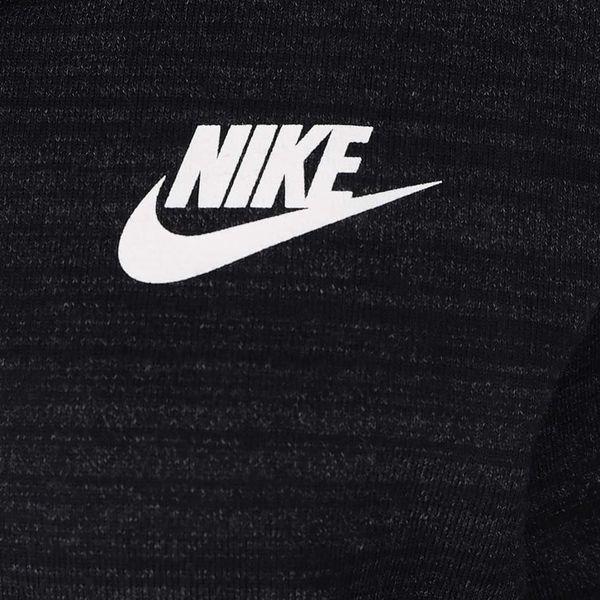 Černá dámská mikina s kapucí Nike2