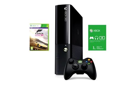 Herní konzole Microsoft 500GB + Forza Horizon 2 + 1m Xbox Live (3M4-00042)